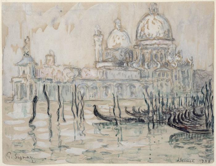 保罗·希涅克,《威尼斯》1908©MuséeMarmottanMonet