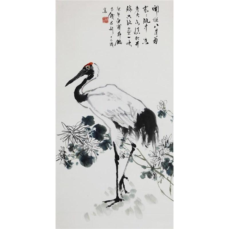 仙鹤--美术传媒